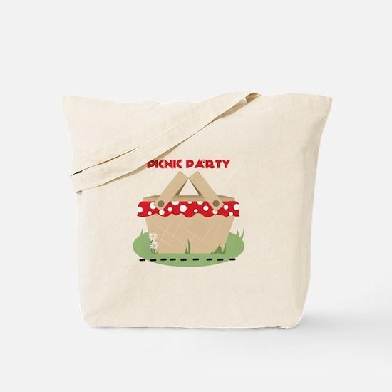 Picnic Party Tote Bag