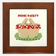 Picnic Party Framed Tile