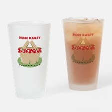 Picnic Party Drinking Glass