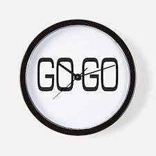 Go-Go Wall Clock