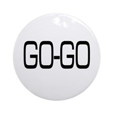Go-Go Ornament (Round)