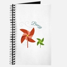 Breezy Pinwheel Journal