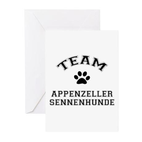 Appenzeller Sennenhunde Greeting Cards (Pk of 10)