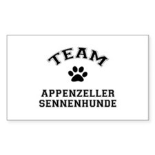 Appenzeller Sennenhunde Rectangle Decal
