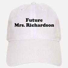 Future Mrs. Richardson Baseball Baseball Cap