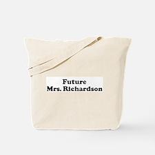 Future Mrs. Richardson  Tote Bag