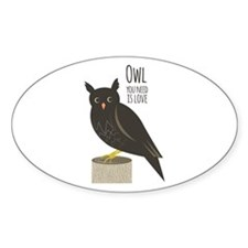 Owl Love Decal