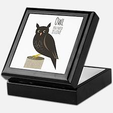 Owl Love Keepsake Box