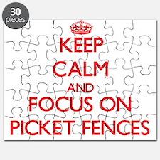 Cute Build fence Puzzle