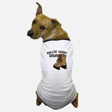 Roller Derby Diva Dog T-Shirt