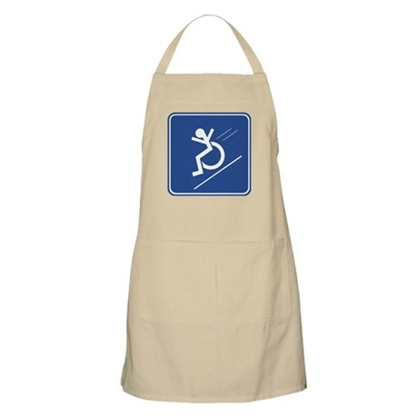 Wheelchair Whee! BBQ Apron