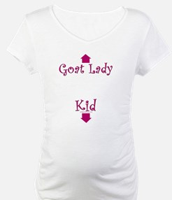 goat lady curly pink Shirt