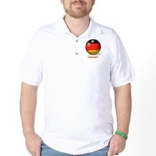 Germany Flag Soccer Ball (PP) T-Shirt