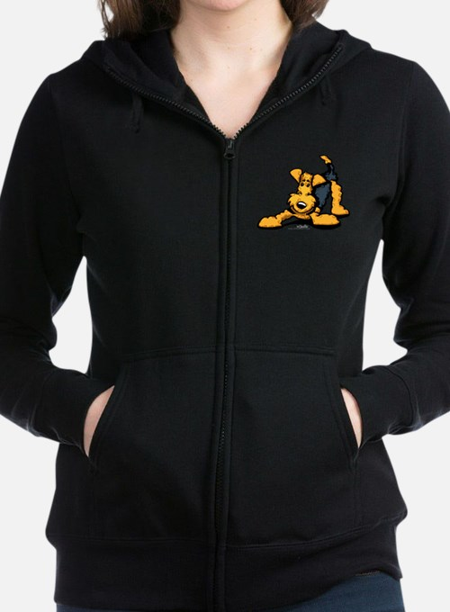 Airedale at Play Sweatshirt