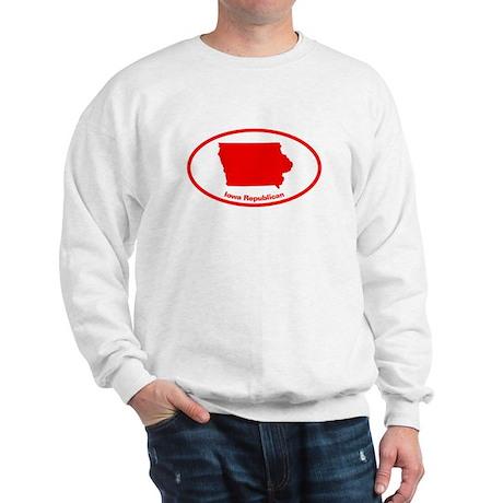 Iowa RED STATE Sweatshirt