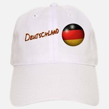 Deutschland Flag Soccer Ball Baseball Baseball Cap