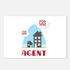 Agent Postcards (Package of 8)