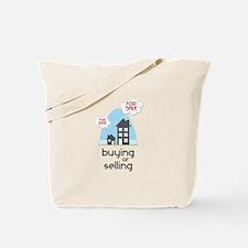 Buying Or Selling Tote Bag