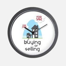Buying Or Selling Wall Clock
