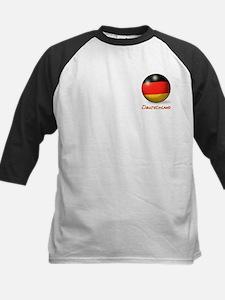 Deutschland Flag Soccer Ball (PP) Tee
