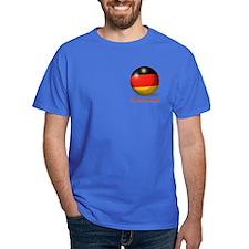 Deutschland Flag Soccer Ball (PP) T-Shirt