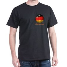 Deutschland Flag Soccer Ball (PP) T-Shirt