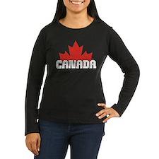 Women's Long Sleeve Black T-Shirt