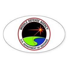 Missile Defense Oval Decal