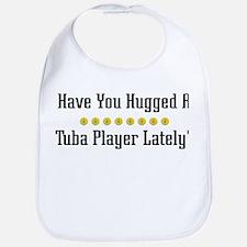 Hugged Tuba Player Bib