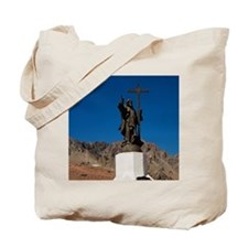 The monument of Jesus Christ that was bui Tote Bag