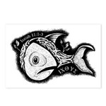 Jesse's Tree Fish Postcards (Package of 8)