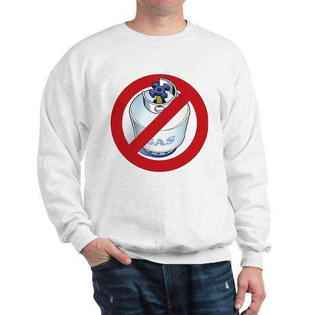 """""""No Gas""""<br> Sweatshirt"""