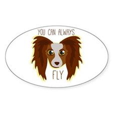Papillion Fly Decal