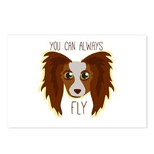 Papillion Fly Postcards (Package of 8)