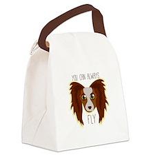 Papillion Fly Canvas Lunch Bag