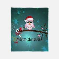 Cute Merry christmas Throw Blanket