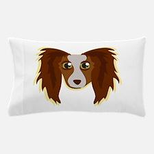 Papillion Head Pillow Case