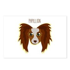 Papillion Postcards (Package of 8)