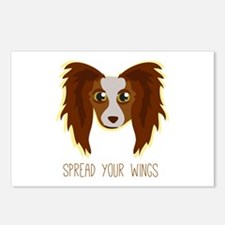 Dog Wings Postcards (Package of 8)