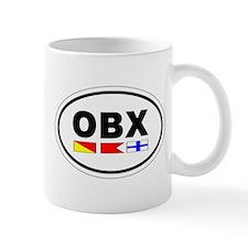 OBX Oval Mug