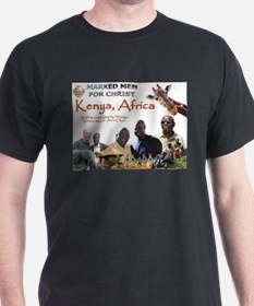 Love For Kenya Marked Men For T-Shirt
