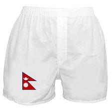 nepal flag Boxer Shorts