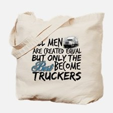 Best Become Truckers Tote Bag