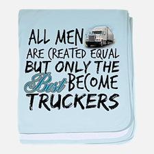 Best Become Truckers baby blanket