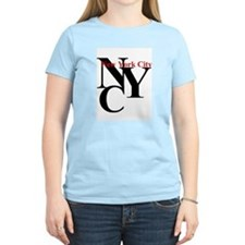 NYC New York City Women's Pink T-Shirt