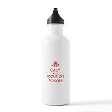 Cool I love bacteria Water Bottle