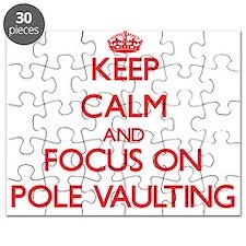Cute Pole vault Puzzle