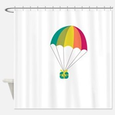Parachute Gift Shower Curtain