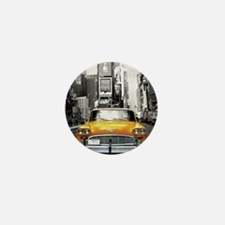 I LOVE NYC - New York Taxi Mini Button