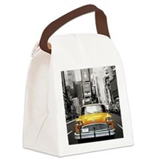 I LOVE NYC - New York Taxi Canvas Lunch Bag